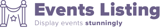 events listing logo