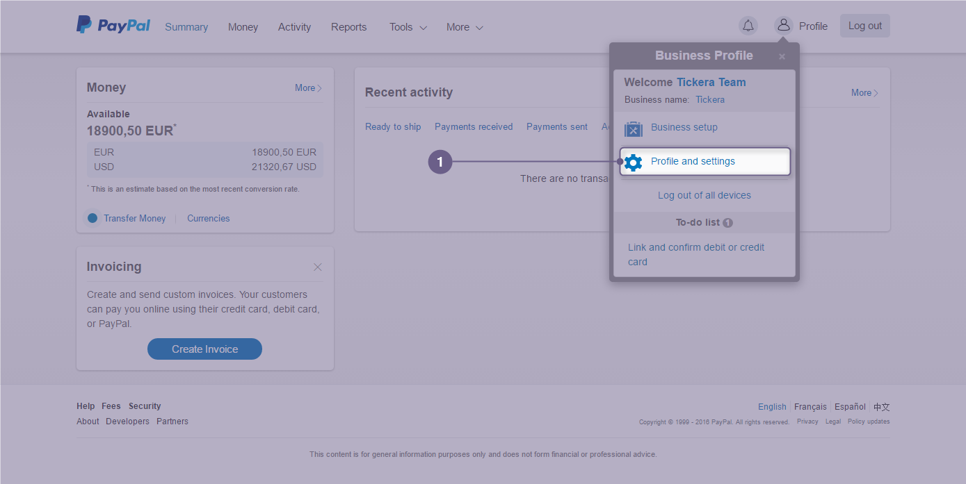 PayPal Pro Payment Gateway for Tickera